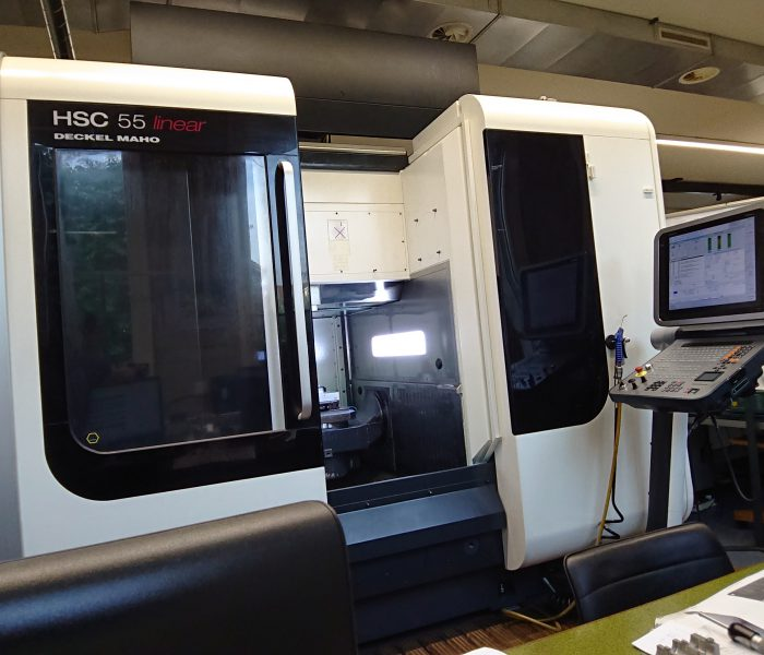5-Achsen Bearbeitungscenter HSC 55V Linear
