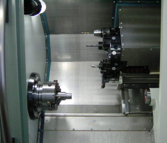 Motorspindel der Drehmaschine Gildemeister CTX 210